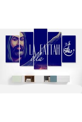 Dekorme La İlla Fettah Kanvas Tablo 110 x 60 cm