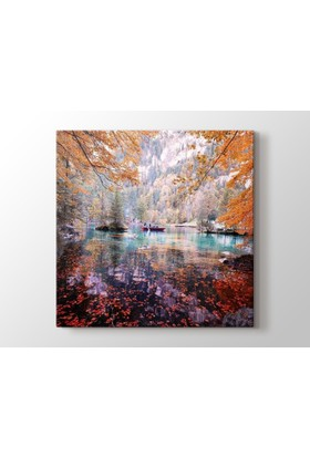 Dekorme Manzara Kanvas Tablo 50 x 50 cm