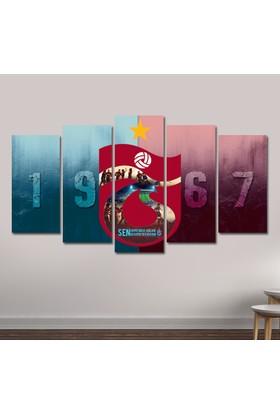 Dekorme Trabzonspor Kanvas Tablo 110 x 60 cm