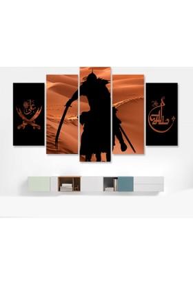 Dekorme Zülfikar Kılıcı Kanvas Tablo 110 x 60 cm