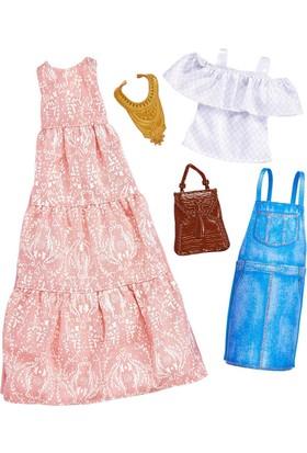 Barbie Barbie'nin Kıyafetleri 2'li Paket FYW82-FKT31