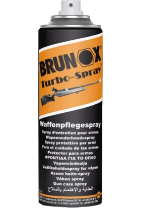 Brunox Silah Bakım Yağı 300 ML Aerosol Sprey