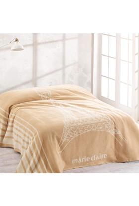 Marie Claire Tek Kişilik Battaniye 150X200 Cm Eıffel Bej