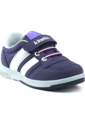 Kinetix Upton Mor Açık Gri Beyaz Kız Çocuk Ayakkabı