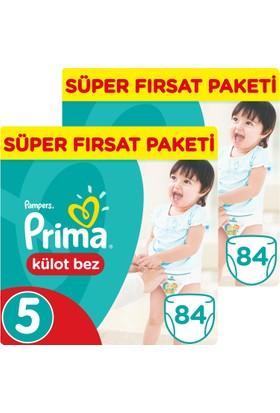 Prima Pants Külot Bebek Bezi 5 Beden Junior Süper Fırsat Paketi 84 x 2 (168 Adet)