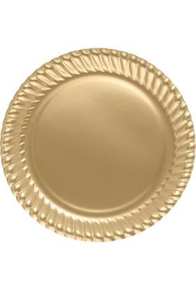 Kikajoy Karton Tabak Altın