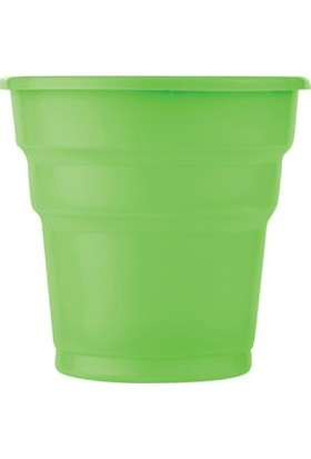 Kikajoy Roll Up Plastik Bardak Yeşil 10 Adet