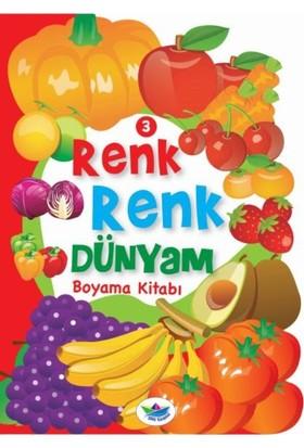 Renk Renk Dünyam Boyama Kitabı 3 :Meyveler Ve Sebzeler