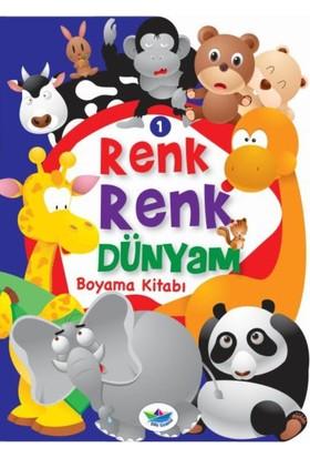 Renk Renk Dünyam Boyama Kitabı 1:Hayvanlar
