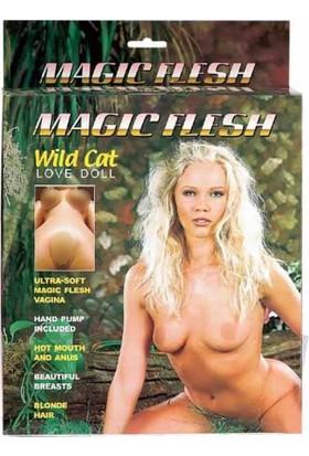 Lovetoy Magıc Flesh Titreşimli Saçlı Realistik Şişme Bebek Manken