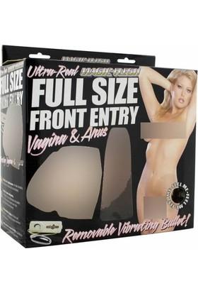 Lovetoy Magıc Flesh Titreşimli Realistik Suni Vajina Mastürbatör Anüs
