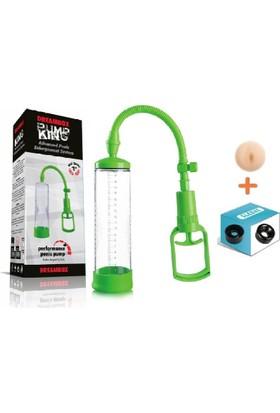 Lovetoy Pump King Penis Pompası Vakum Pompa + Penis Pompası Yedek Başlık