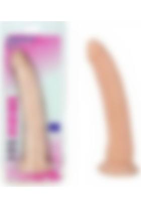 Pretty Love Güçlü Vantuzlu Damarlı Soft Realistik Penis Anal Dildo Vibratör