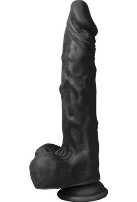 Xise Kemerli Titreşimli Zenci Realistik Vibratör Dildo Penis 21Cm