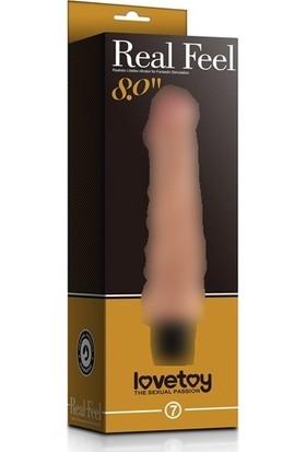Lovetoy Real Feel Cyberskin 20 Cm Titreşimli Vibratör Penis