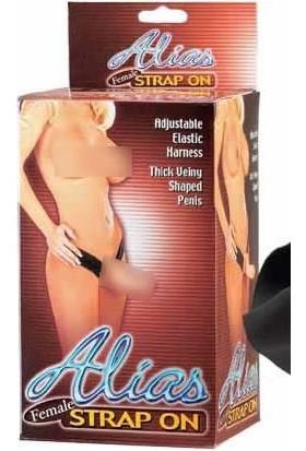 Lovetoy Alias İçi Boş Belden Bağlamalı Protez Penis Strapon 15 Cm