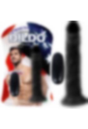 Xise Testissiz Zenci Penis Et Dokusu Süper Realistik 18.5 Cm Dildo