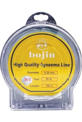 Bojin Dyneema 100 m - 0.20 mm Renk: Yesil 1/10