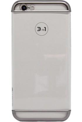 Vorson VP 001 iPhone 6/6S 3in1 Şeffaf Kılıf