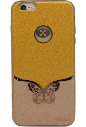 Vorson VP 008 iPhone 6/6S Plus Tpu Kelebek Baskılı Kılıf