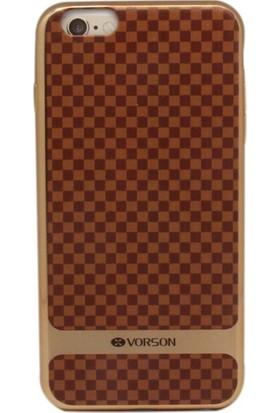 Vorson VP 019 iPhone 6/6S Plus Küçük Damalı Kılıf