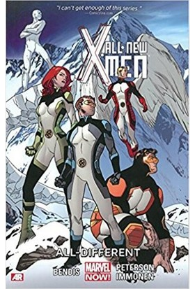 Marvel Comics All-New X-Men Volume 4: All-Different İngilizce Çizgi Roman