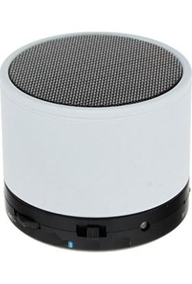 Platoon Beyaz Renk Mini Bluetooth Ses Bombası Speaker