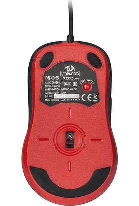 Redragon Gerderus Oyuncu Mouse Kırmızı Siyah 70241