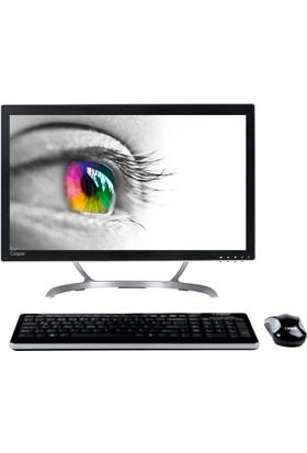 """Casper A3H.7400-4T05X Intel Core i5 7400 8GB 1TB Freedos 21.5"""" FHD All In One Bilgisayar"""