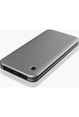 Dexim Slim 10.000mAh Taşınabilir Şarj Cihazı - Gümüş