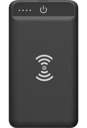 Dexim 8.000mAh Kablosuz Taşınabilir Şarj Cihazı (Micro USB/Lightning Giriş)