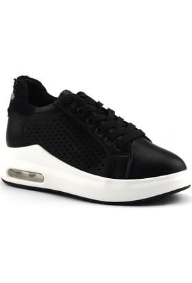 Guja 18y421-1 Siyah Günlük Air Günlük Bayan Spor Ayakkabı