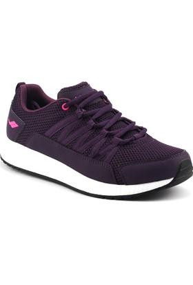 Lescon L-5616 Mürdüm Easystep Günlük Yürüyüş Bayan Spor Ayakkabı