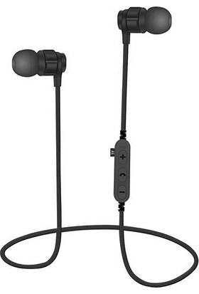 Bludfire MS-T8 Bluetooth Mikrofonlu MP3 Spor Kulaklık - Siyah