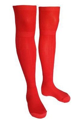 Evox Tam Profesyonel Yetişkin Futbol Çorabı, Tozluk, Konç Kırmızı