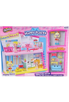 Shopkins Cicibiciler Happy Places Oyuncak Set