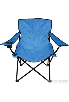 Katlanır Kamp Sandalyesi Mavi