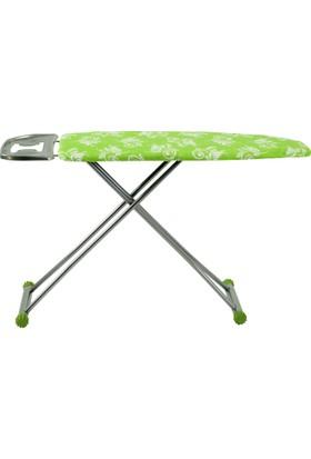 Evform Gold Yeşil Beyaz Desenli Ütü Masası B49
