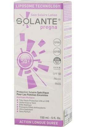 Solante Pregna SPF 50+ 150 ml Gebelik Dönemi İçin Özel Güneş Koruma Kremi