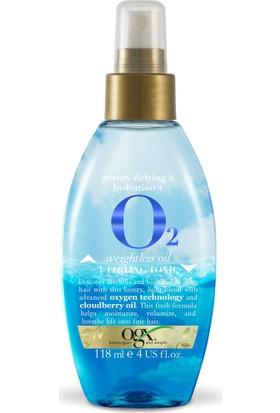 Organix O2 Weightless Oil + Lifting Tonic Hacim Spreyi 118 Ml