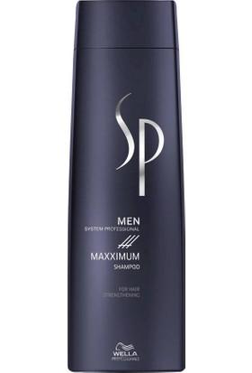 Wella Sp Men Maxximum Shampoo Erkek Saç Dökülme Şampuanı 250 Ml