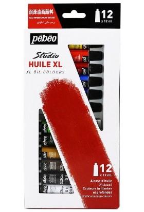 Pebeo Studio Yağlı Boya Seti 12 Renk X 12 Ml