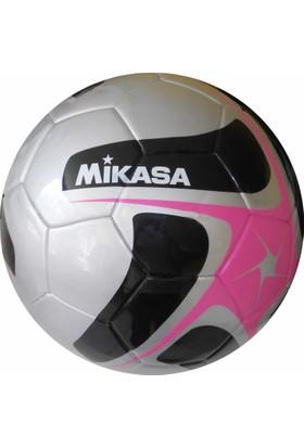 Mikasa Kaynaklı Futbol Topu Siyah - Gri