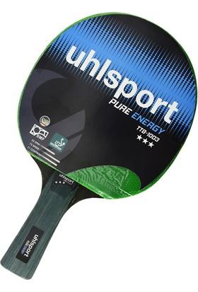 Uhlsport TTB1003 3 Yıldız Ittf Onaylı Masa Tenisi Raketi Yeşil