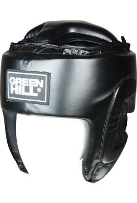 Green Hill HGP4015 Headguard Pro Boks Kaskı Siyah