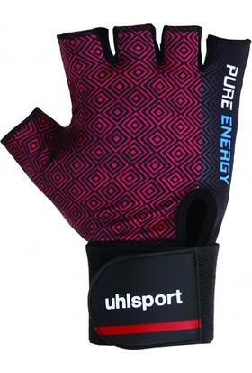 Uhlsport FGL1020 Body Ağırlık Eldiveni Siyah Kırmızı
