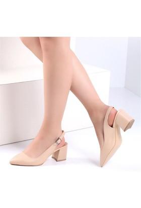 Pembe Potin Carolten Kadın Ayakkabı