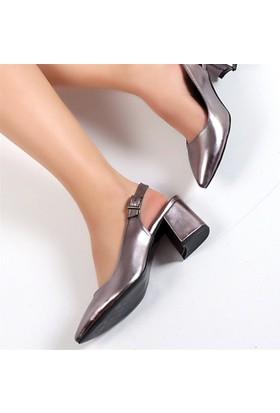 Pembe Potin Carolplatin Kadın Ayakkabı