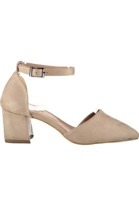 Pembe Potin Coralie Ten Nubuk Kadın Ayakkabı