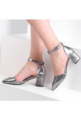 Pembe Potin Coralie Platin Kadın Ayakkabı
